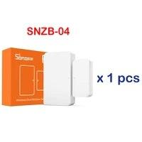 8 pieces SONOFF Capteur De Fenetre De Porte Sans Fil DW2-WIFI DW2-RF SNZB-04-zigbee sans fil Porte Fenetre Capteur magnetique compatible avec IFTTT