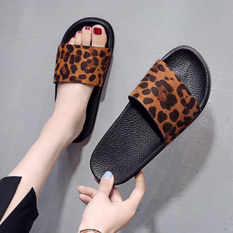 ¡2021! Zapatillas de piel sintética de alta calidad para mujer, zapatos de...