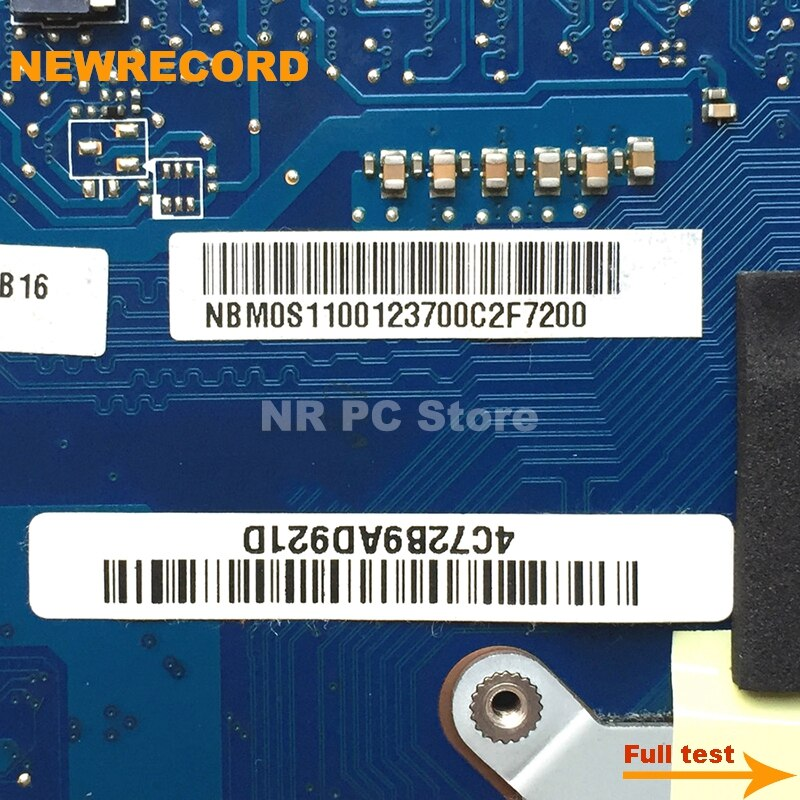 Купить с кэшбэком NEWRECORD NBM0S11001 NB.M0S11.001 VA70 VG70 For Acer aspire V3-771G Laptop Motherboard DDR3 MAIN BOARD full test