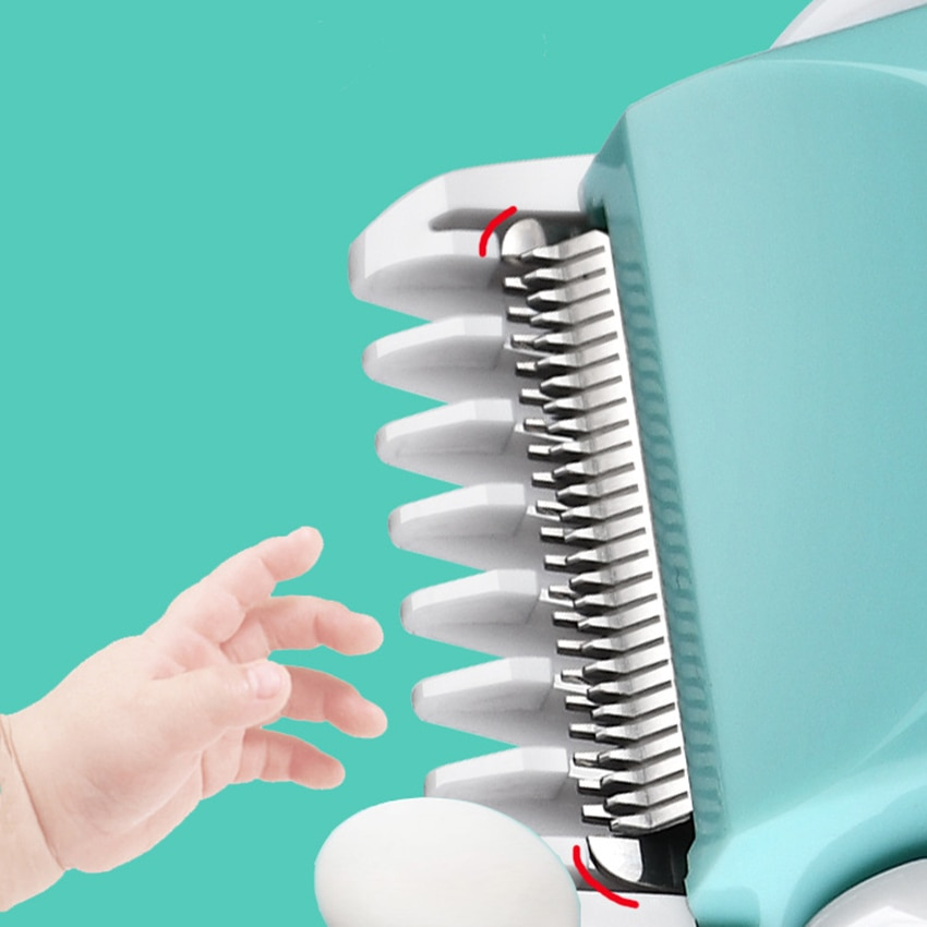 Baby Hair Clipper Child Hair Clippers Electric Quiet Trimmer Child Silent Cut Ceramic Cutter Hair Fast Charging Hair Trimmer enlarge
