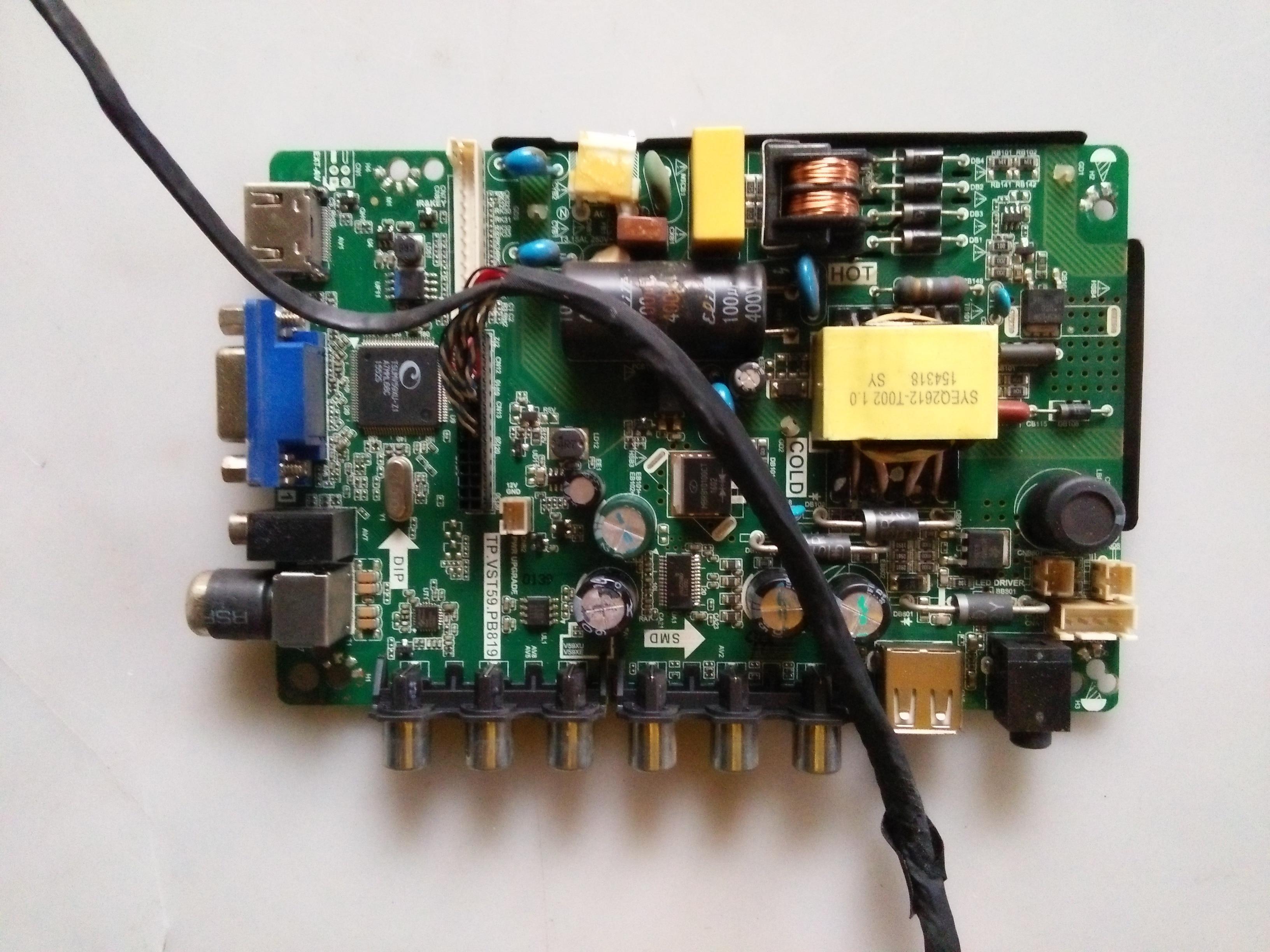 Original placa lógica Tablero Principal le-8822a Tablero Principal tp! vst59.pb819 panel lc320dxy de placa de circuito