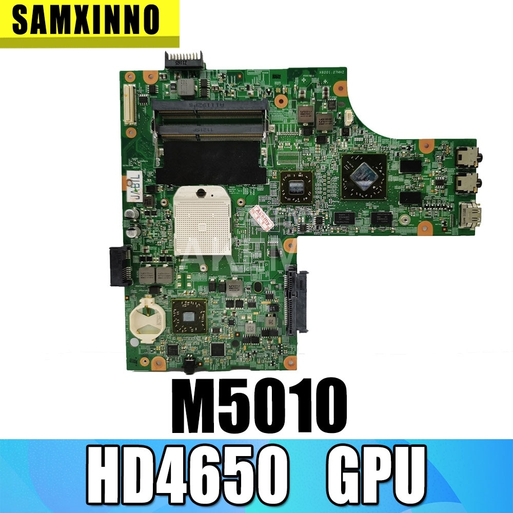 CPU livre M5010 15R M5010 mainboard Para DELL inspiron laptop motherboardCN-0HNR2M 0HNR2M 09909-1 48.4HH06.011 HD4650