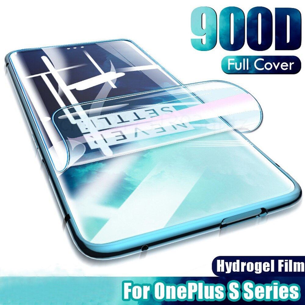 Full Cover Protective Case For Oneplus 9 7 8T Nord Screen Protector Hydrogel Film For Oneplus Nord n