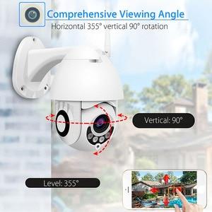 1080P CCTV ip camera PTZ Two Audio Waterproof outdoor camera WiFi Sports Voice Alarm Camera Infrared Night Vision