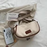 2021 new pattern crossbody bag for woman wide single strap zipper pu leather chest bag shoulder messenger saddle bag