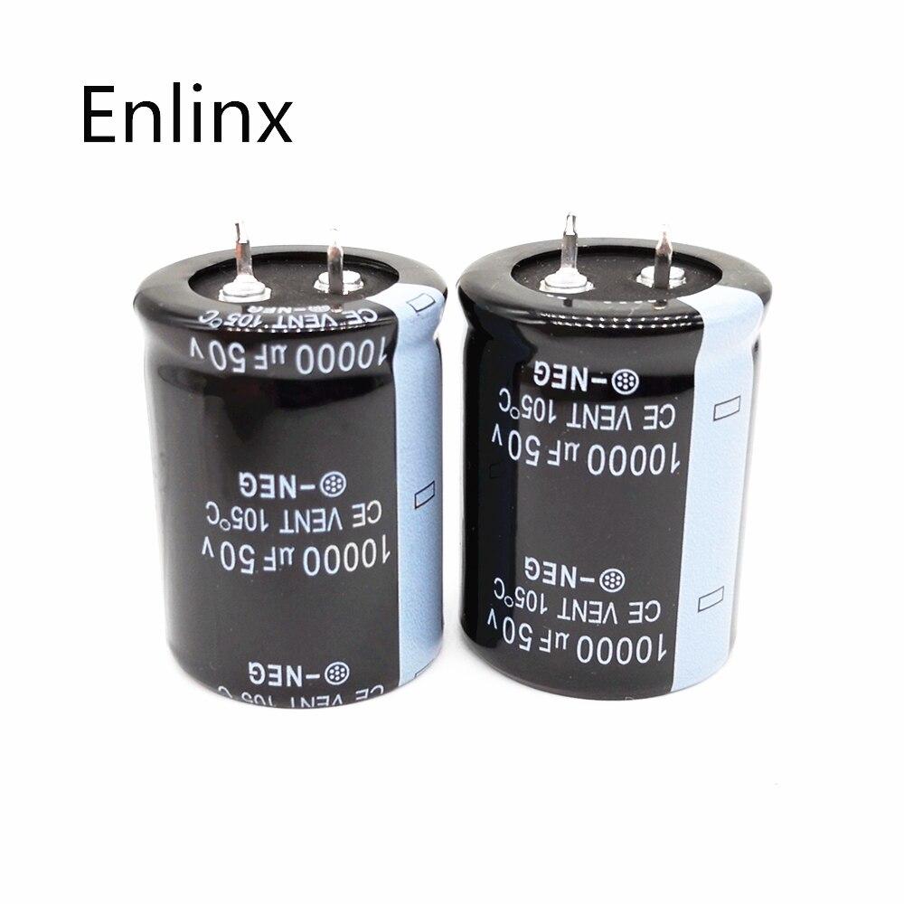1 Uds buena calidad 50v 80v 63V 100V 10000uf Radial DIP condensadores electrolíticos de aluminio tolerancia 20% de 20%