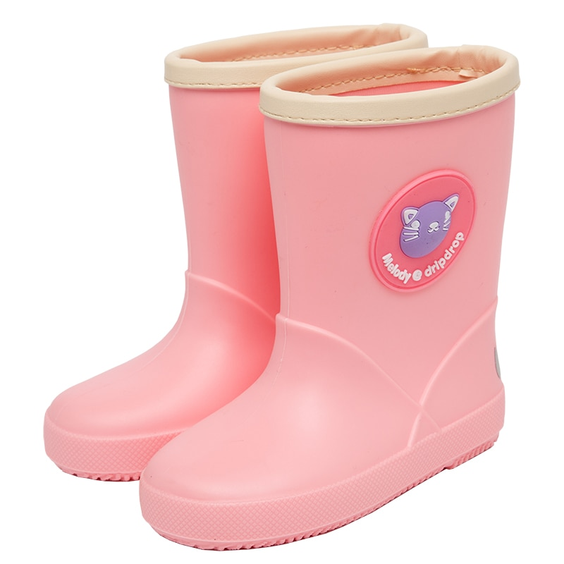 DRIPDROP طفل احذية المطر الفتيات الفتيان لطيف الكرتون الحيوانات الاطفال أحذية لفتاة الأحذية مع الباندا البطريق الجوارب الاطفال الأحذية