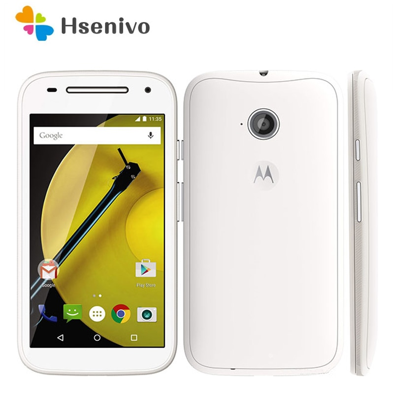 Для Motorola moto E отремонтированы оригинальный Motorola Moto E XT1021 100% хорошее качество Мобильный телефон один год гарантии