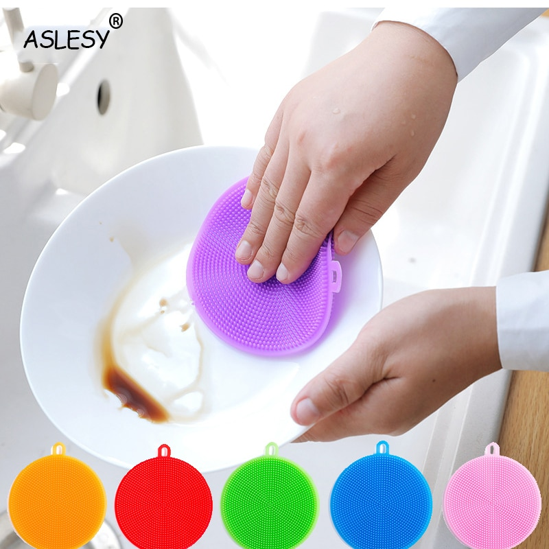 5-20Pcs Kitchen Anti-grease wipping rags efficient Bamboo Fiber Cleaning Cloth home washing dish Multifunctional Cleaning Tools enlarge