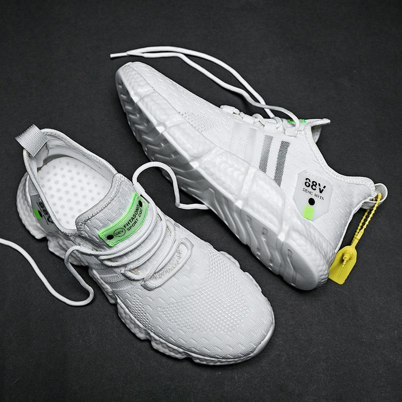 Mężczyzna na zewnątrz buty do biegania z amortyzacją antypoślizgowe sportowe męskie trening sportowy buty lekkie buty sportowe męskie buty
