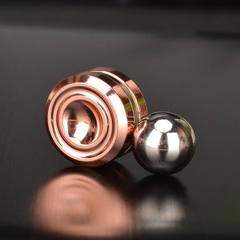 New Fidget Spinner Toys Adult Antistress Magnetic Metal Spiner Ball Stress Reliever Artificial Satellite Hand Spinner Stress Toy