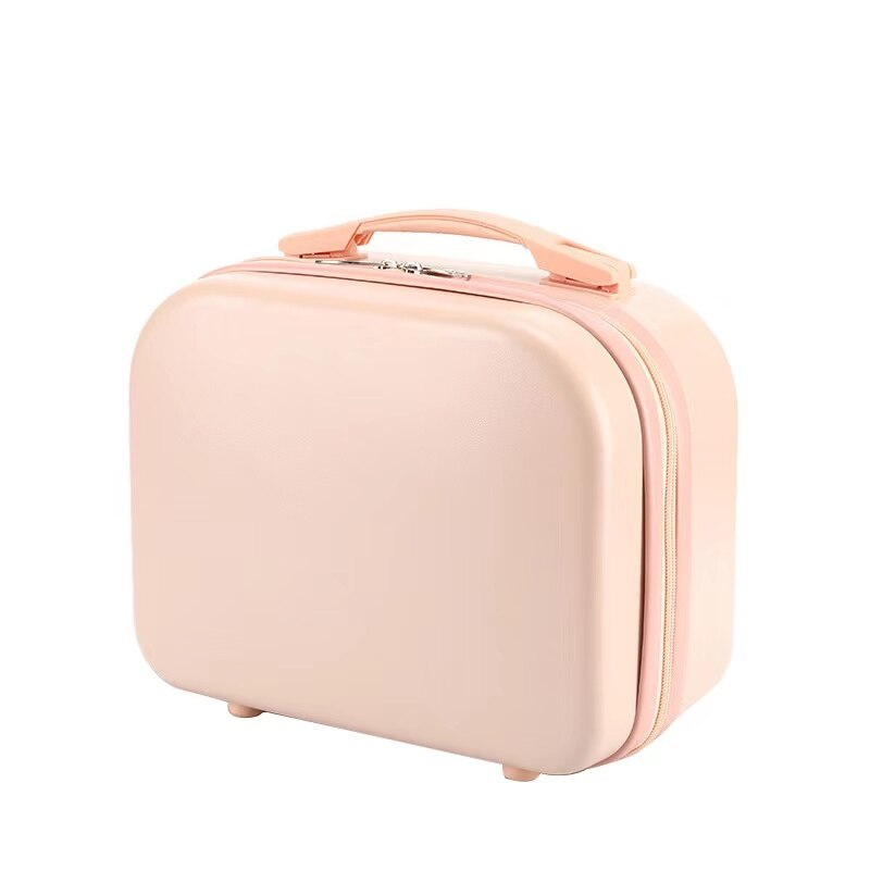 Mini Top Quality PC Material Suitcase For Women 14 inches 30*15*24cm Discount Cheap Luggage