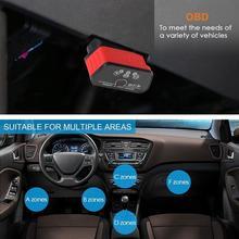 Scanner doutil dinterface doutil de Scanner de Diagnostic de défaut automatique de voiture de Catuo KW903 professionnel ELM327 WIFI OBD2 pour le téléphone mobile
