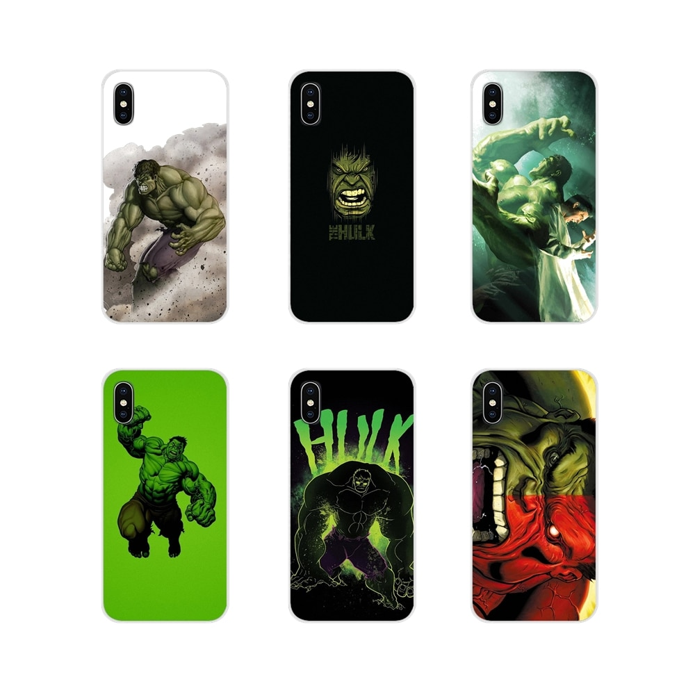 Comics marvel Superhero Hulk Soft Transparent Case Covers For Huawei Y5 Y6 Y7 Y9 Prime Pro GR3 GR5 2017 2018 2019 Y3II Y5II Y6II