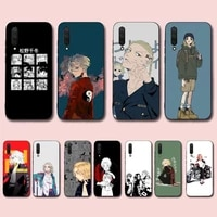 toplbpcs anime tokyo revengers phone case for xiaomi mi 5 6 8 9 10 lite pro se mix 2s 3 f1 max2 3