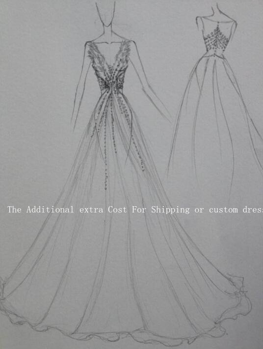 Extra Fee The Additional Extra Cost For Shipping or Custom Dress 3 usd for shipping cost custom label or other extra cost