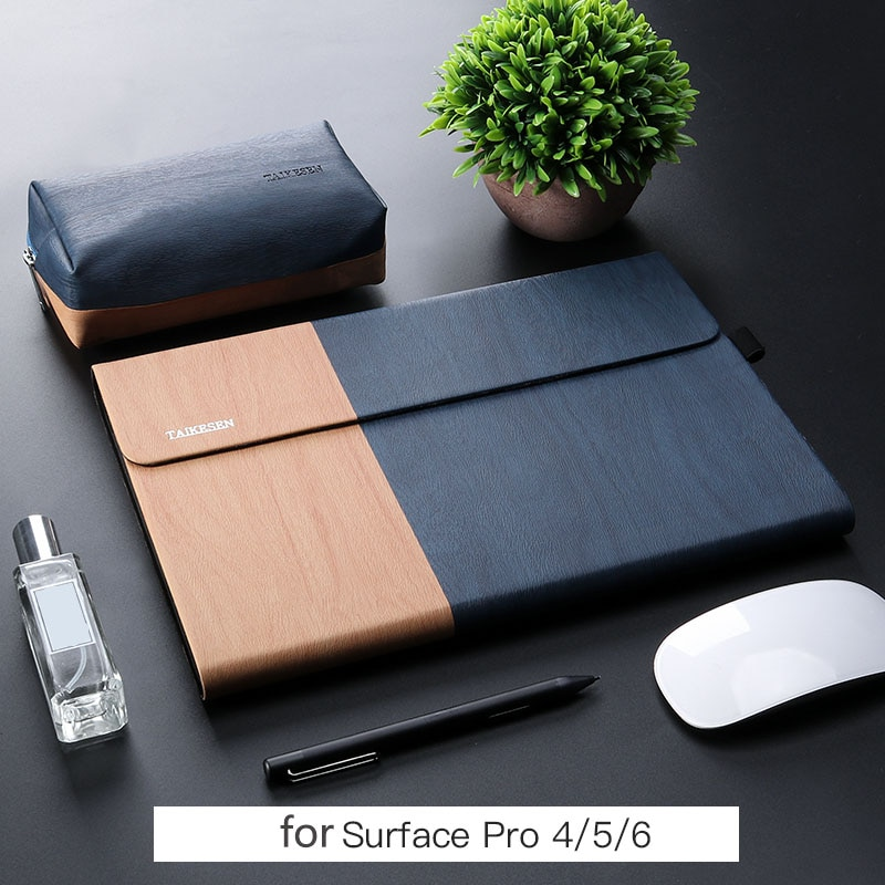 Nueva Bolsa para ordenador portátil a prueba de golpes para Microsoft surface pro 6 5 4 funda para mujer hombres tablet manga 12 pulgadas para superficie pro funda soporte