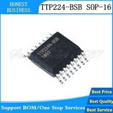 5 Pcs-10 Pcs TTP224B-BSBN TTP224-BSB SSOP-16 TTP224 Ssop TTP224N-BSB TTP224N Smd 4 Toetsen Touch Pad Detector Ic