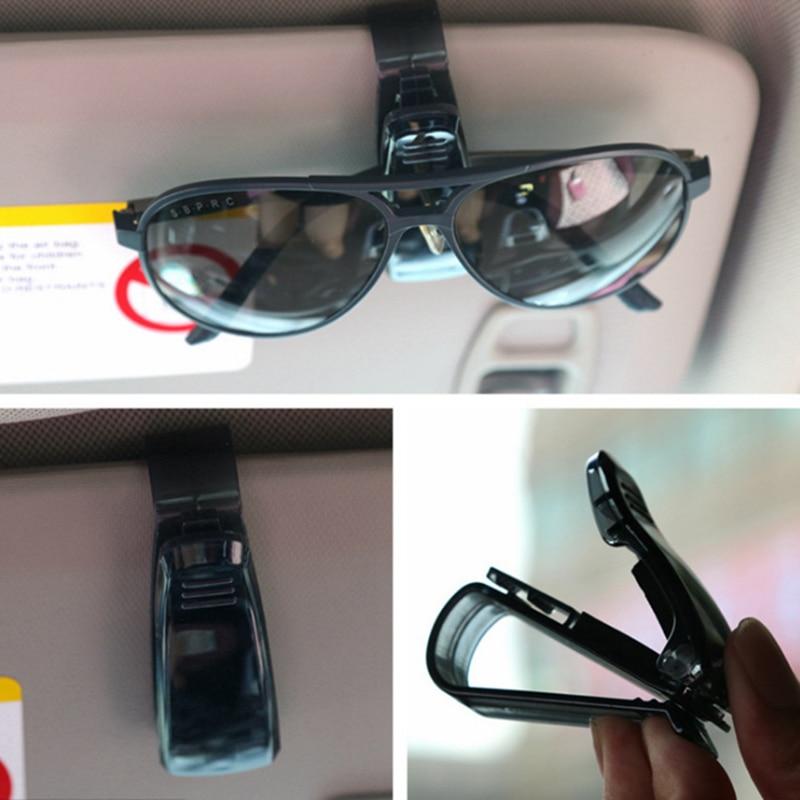 2018 Hot Sale Car Sun Visor glasses Holder Ticket Clip FOR Toyota Corolla RAV4 Yaris Honda Civic Accord Fit CRV Nissan Qashqai