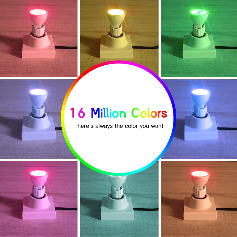 GLEDOPTO Zigbee 3PCS Spotlight MR16 RGBCCT Color Changing Spot Light Hub APP/Voice Control LED Light Bulb Beam Angle 30/120 enlarge