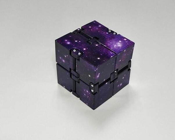 Мини-игрушки бесконечного куба для снятия стресса, подходит для детей, взрослых, забавные кубики, декомпрессионные игрушки, 2019