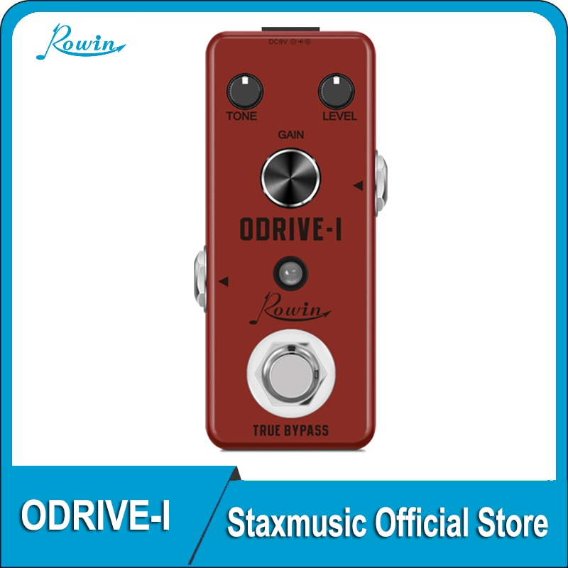 Rowin LEF-302AGuitar Overdrive Pedal Analog Classic Blues ODrive-1 Effect Pedals