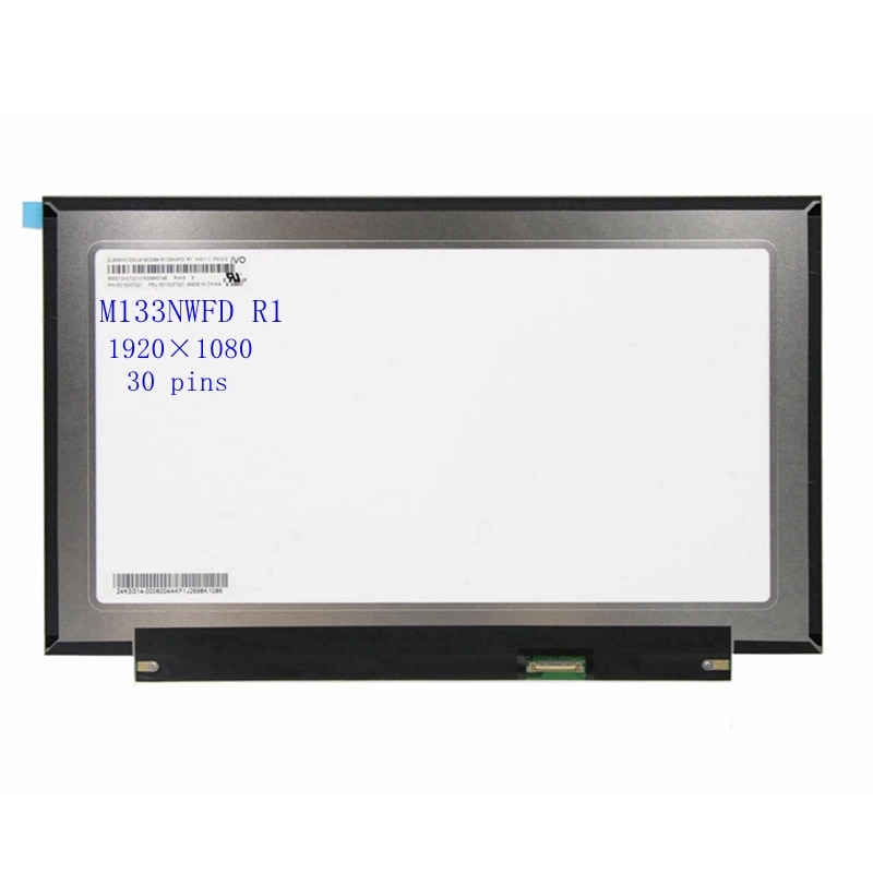 M133NWFD R1 FHD IPS مصفوفة 30 pins 13.3