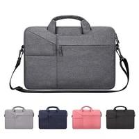 laptop bag 12 13 14 15 6 16 inch waterproof notebook case sleeve for pro computer shoulder handbag briefcase men