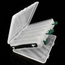 20.5*17*5cm Double-sided Fishing Tackle Sub-box Storage Box for Fish Lure Baits Shrimp