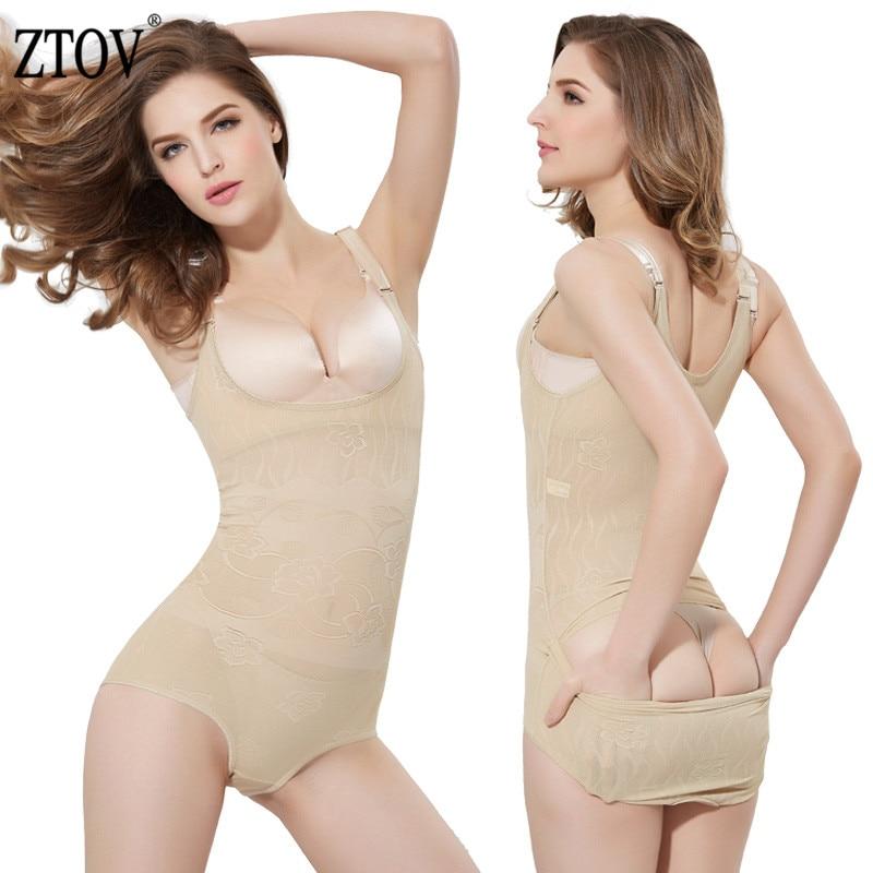 ZTOV Postpartum Slimming Underwear shaper bodysuit body Shaper Slim Belt belly Ladies Shapewear Body