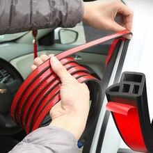 Автомобильная дверь резиновые уплотнительные полоски Авто двухслойные герметичные наклейки для двери автомобиля герметик уплотнитель автомобильные аксессуары
