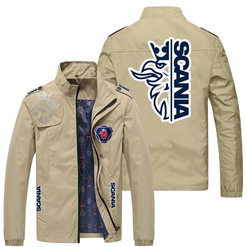 New Men's Jackets Spring Fall Fashion Slim Coat  Casual Baseball Motorcycle Jacket Zipper Men's Jacket Size M-5XL