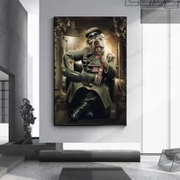 lovely panda canvas art posters and prints animals canvas paintings on the wall art cartoon pictures for kids room home decor