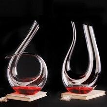 Transparent Creative Red Wine Decanter Crystal Glass Set Handmade Jug WY615