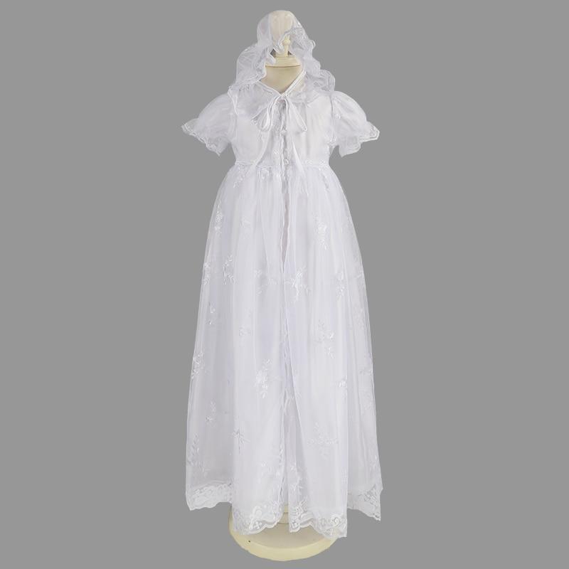 Newborns Dress for Girls Elegant Communion Clothes Christening Baby Clothes First Communion Clothes for Girls Vestido Infantil