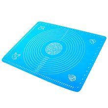 Feuille de pâtisserie tapis de silicone antiadhésif avec marquages, tapis de silicone, feuille de silicone, plaque de cuisson en silicone-50x40cm
