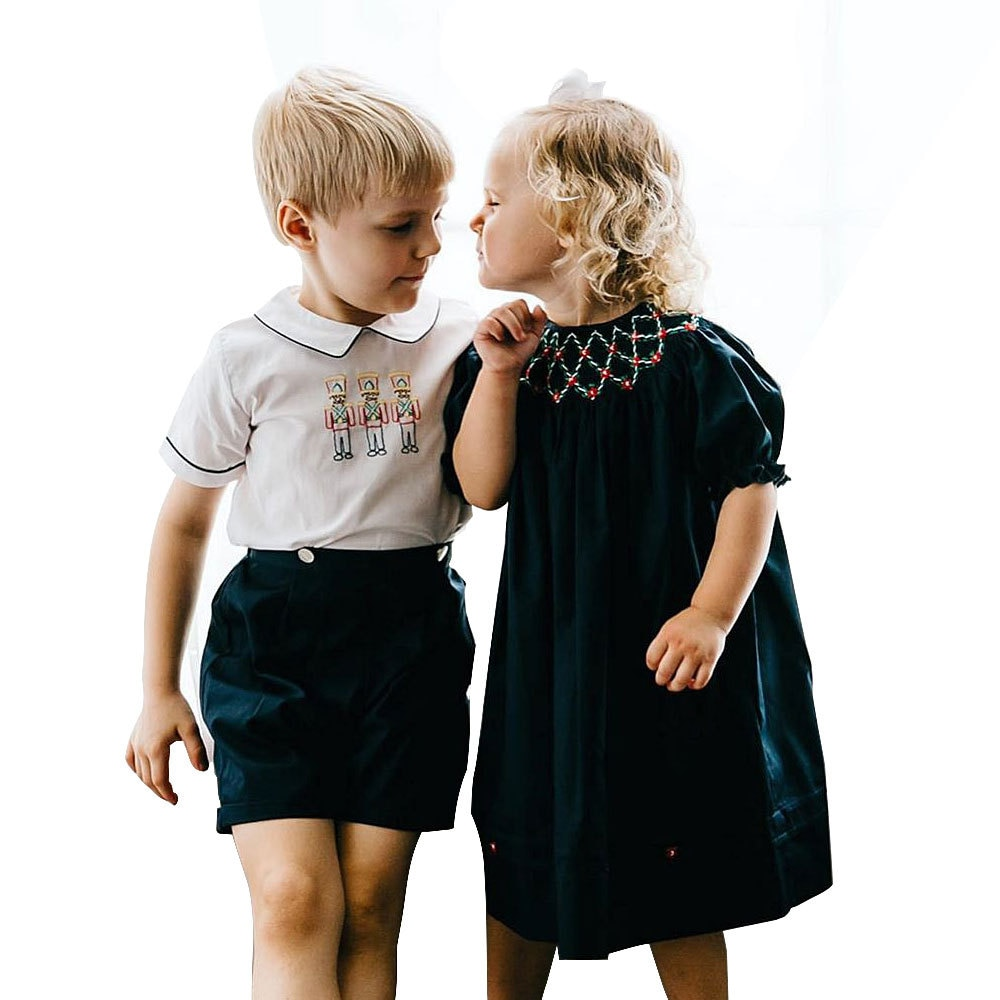 ملابس أطفال مدببة ، ملابس للأولاد والبنات ، زي إسباني ، وزرة أطفال
