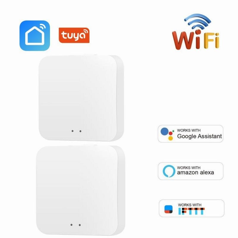 Tuya ZigBee 3.0 Smart Hub Wireless/Wired Gateway Bridge For App Voice Remote Control Works With Alexa Google Home Assistant