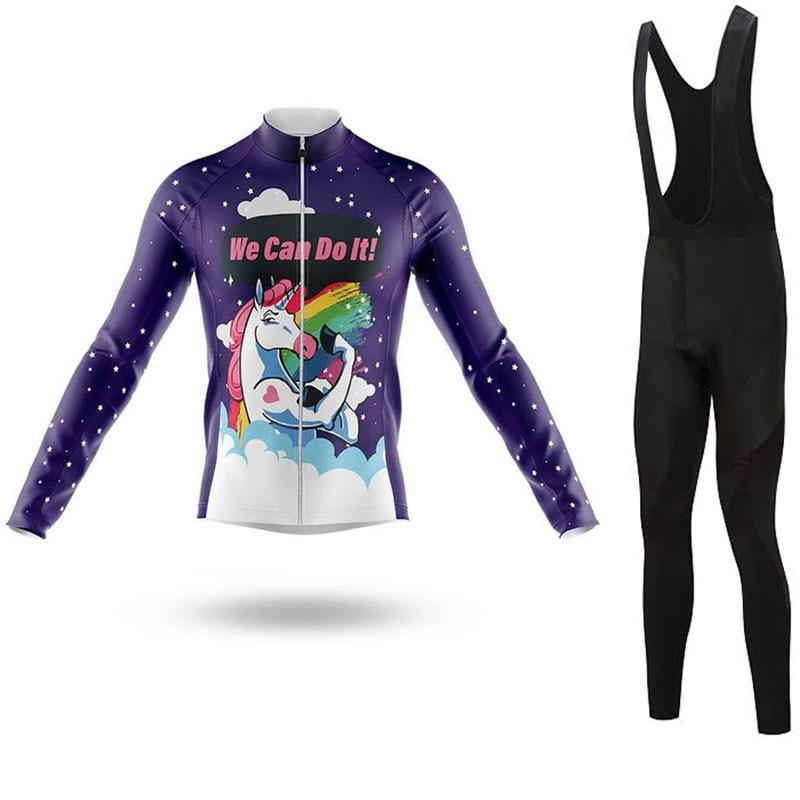LONG AO LairschDan 2020, nombre del equipo de ciclismo, de jersey conjunto largo, vestido transpirable para ciclismo de montaña, kit de ropa para mujer, atuendo para bicicleta