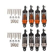 4PCS Metal Shock Absorber Suitable for RC Car WPL Q60 Q61 C14 B36 Upgrade Parts