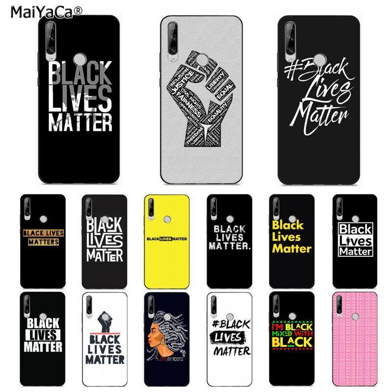 Чехол для телефона MaiYaCa Black Lives Matter Customer высокого качества для huawei Y 7S 7 PRO 9 6 Y5 PRIME 2018 Y7 9 5 6 PRO 2019
