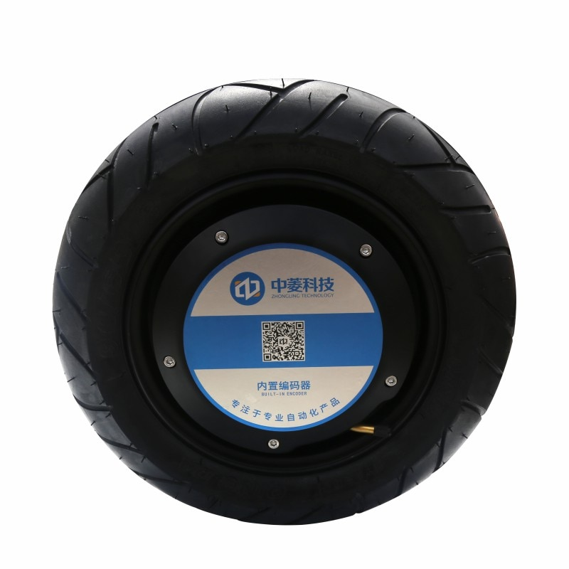 13-inch Large-size Wheel Motor Pneumatic Tire 4096-wire Encoder High-precision Off-road Robot Electrical ZLLG13ASM800 36V enlarge