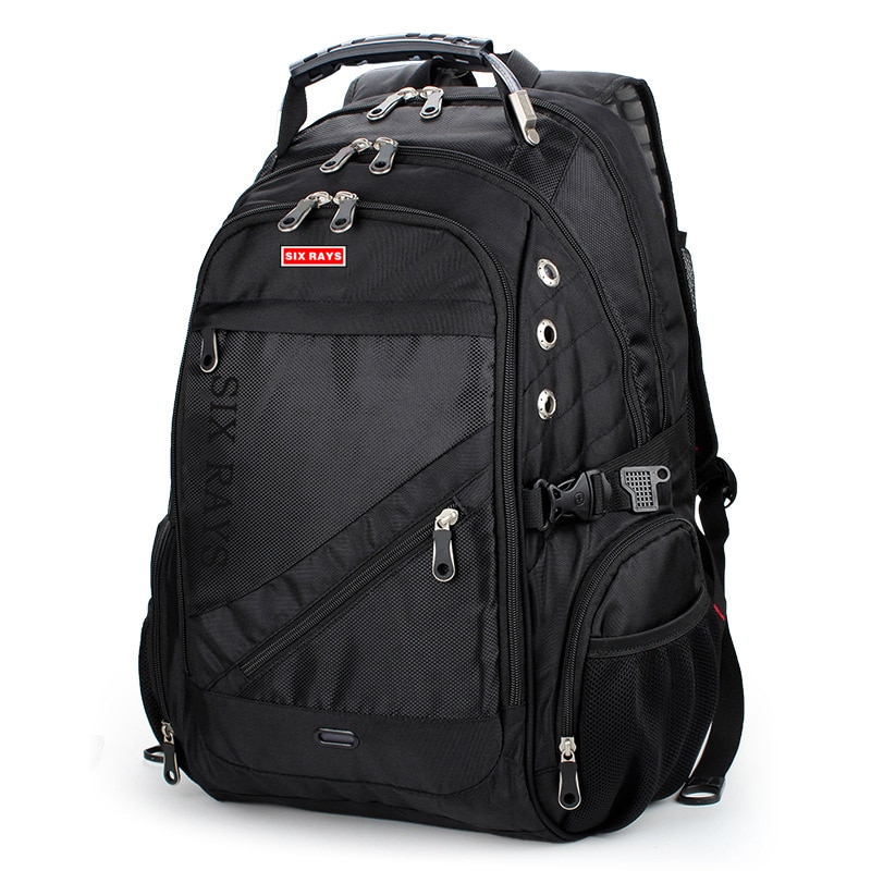 عرض ساخن 2020 حقيبة سفر للرجال حقيبة ظهر سويسرية مصنوعة من البوليستر, مقاومة للماء ، آمنة ضد السرقة ، مناسبة للكمبيوتر المحمول ، حقائب ماركة