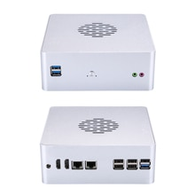 Qotom 2 Gigabit ethernet lan Mini PC Core i3 i5 AES-NI routeur opnsense Sophos, Vyos, démêler Mini ordinateur Q635S Q655S