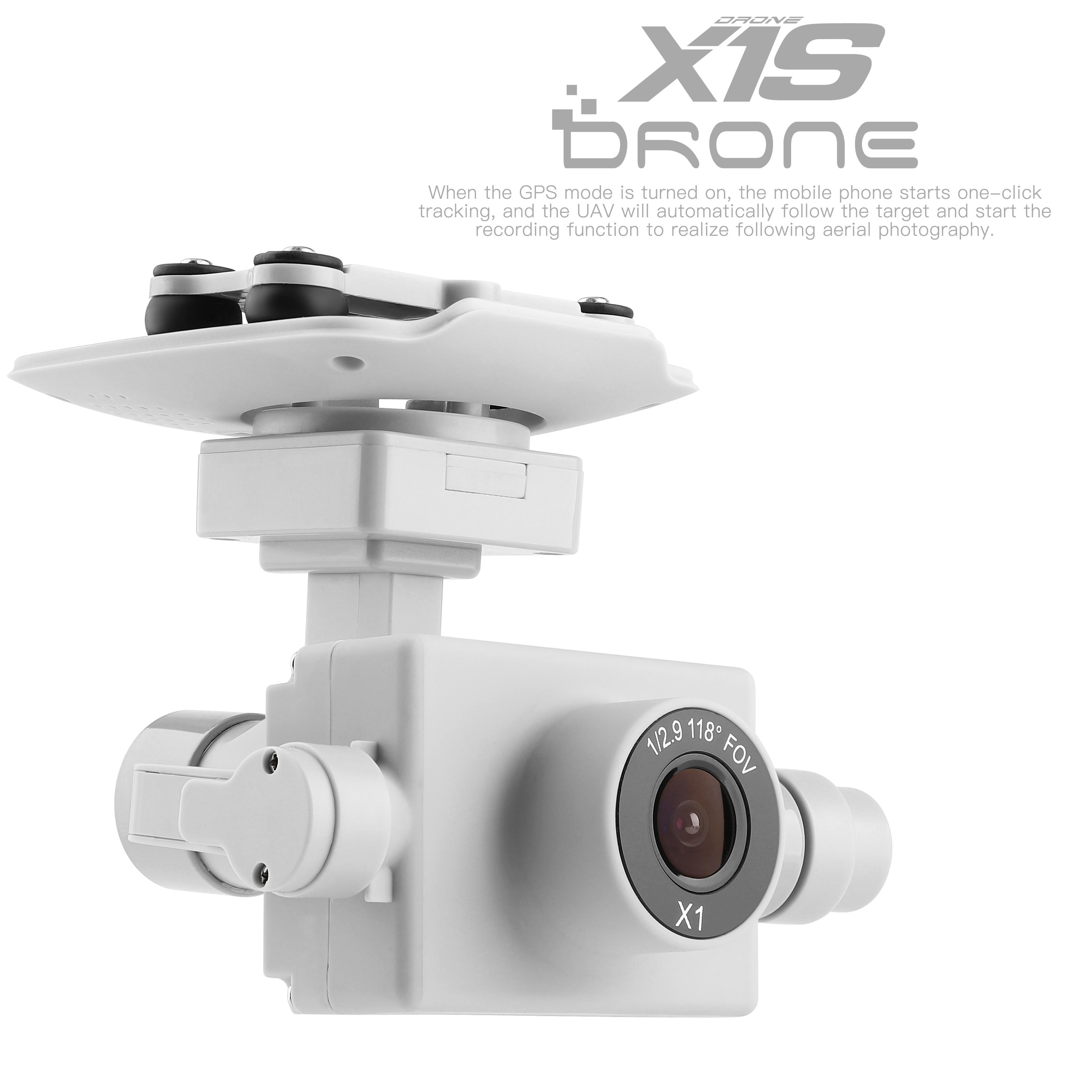 WLtoys XKS X1 RC Drone Original Spare Parts HD Camera X1S-0014 4K 5G WIFI Camera with Platform Gyro PTZ enlarge