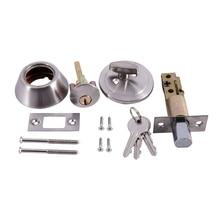 AMS-Marco de bloqueo de puerta de aleación de aluminio, fuerza de bloqueo de vidrio 101, cerradura auxiliar de un solo lado