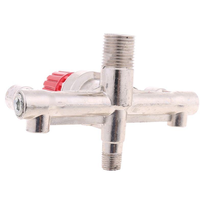 P15D двойной выходной труба из сплава воздушный компрессор Переключатель Регулятор давления клапан фитинг части Аксессуары