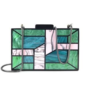 OC4117 Aliexpress wholesale fashion acrylic bag , women party evening bag acrylic clutch purses