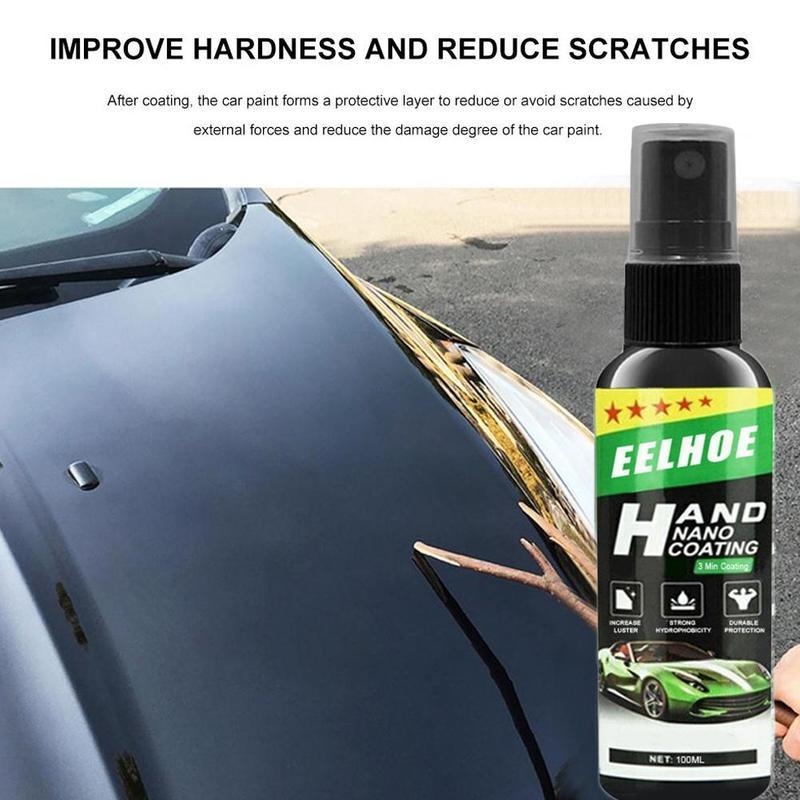30/50/100 мл нано-жидкое распылительное покрытие автомобильный лак спрей-герметик верхнее покрытие быстрое нано-покрытие автомобильный спрей ...
