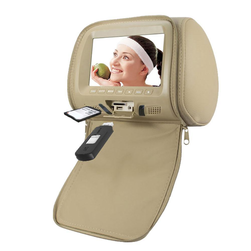 Universal 7 Inch Car Headrest Monitor Rear Seat Entertainment Multimedis Playerlap monitor